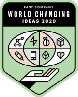 Fast Company World Changing Ideas 2020 Honoree
